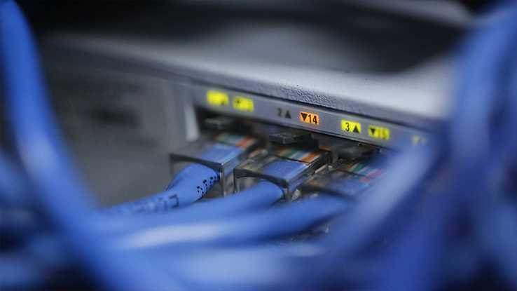 Broadband connection ADSL