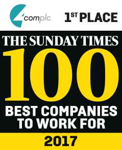 The Sunday Times 100 Best companies To Work For 2017