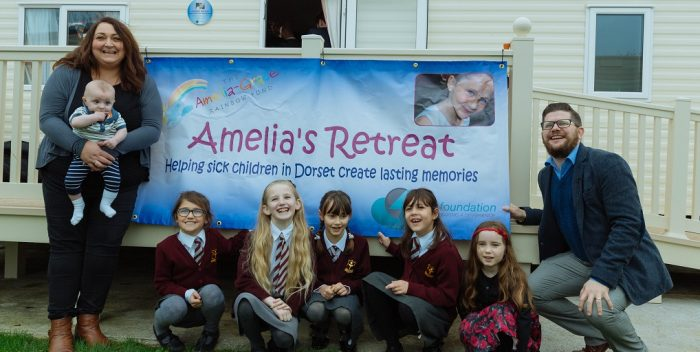 4Com have previously raised £35,000 to fund Amelia's Retreat.