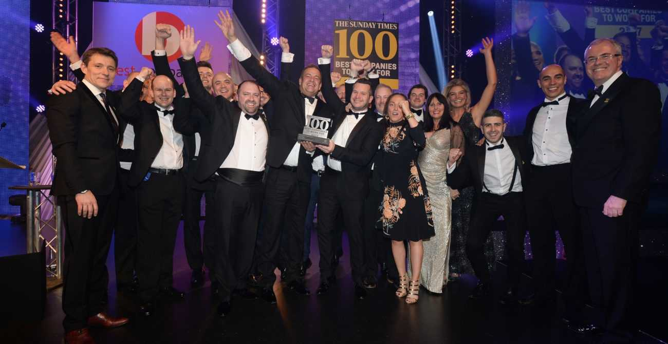 Sunday Times Best Company to Work For 2017 Winners