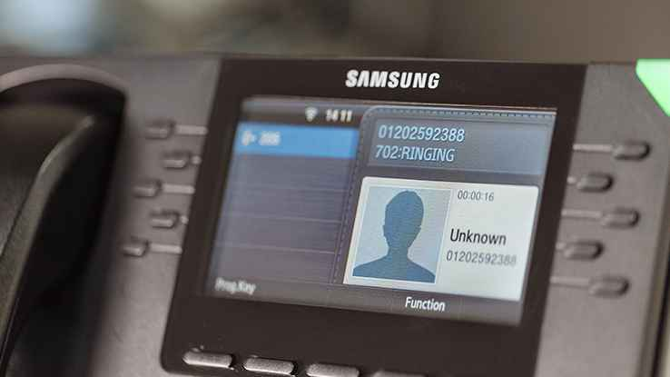 Samsung phone system phone call